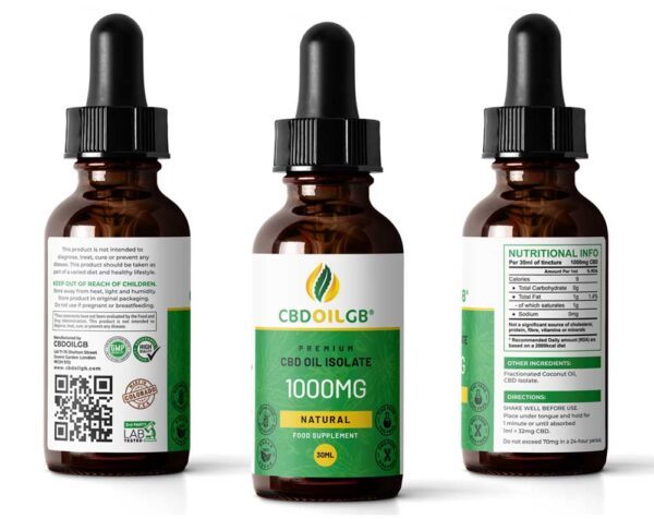 CBD Oil Natural 1000MG